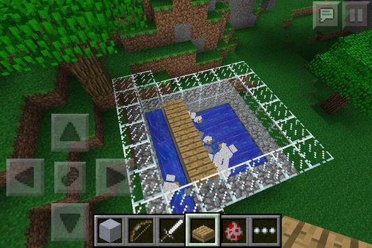 PE Building Minecraft poster
