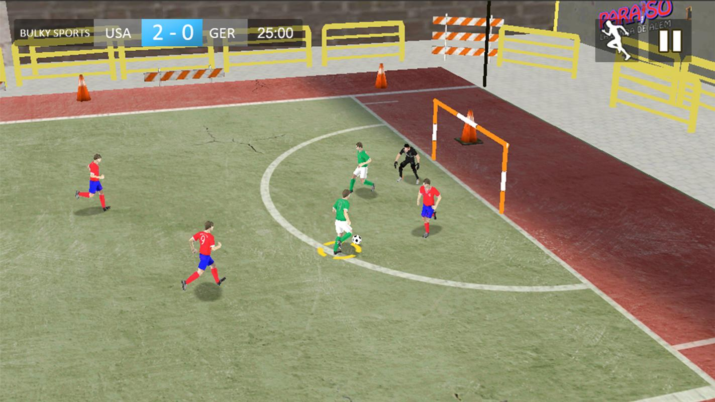 Street football games for android