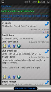 AVX Free - Voice Assistant apk screenshot