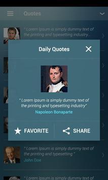 Daily Quotes apk screenshot