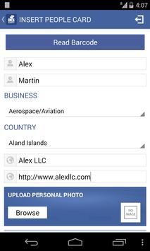 Business Cards Info (BCi) apk screenshot