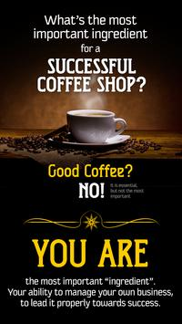 111 Business Tips  Coffee Shop poster