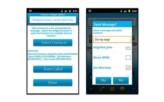Quick Text - Widget apk screenshot