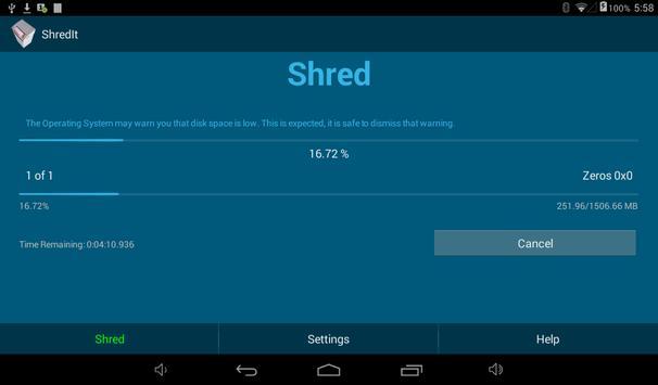 ShredIt Mobile apk screenshot