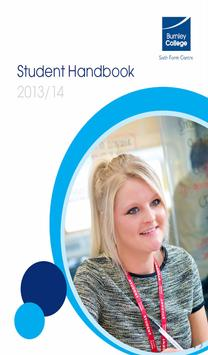 Burnley College Student Guide poster