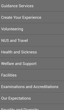 Burnley College Student Guide apk screenshot