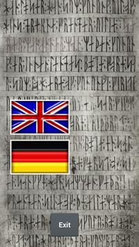 Runes Alphabet Teacher poster