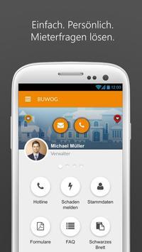 BUWOG Mieter App poster