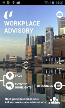 Workplace Advisory poster