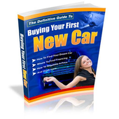 Buying Your First New Car icon
