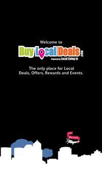 Buy Local Deals poster
