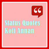 Status Quotes of Kofi Annan icon