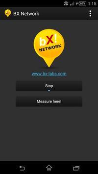 BX Network: faster Internet poster