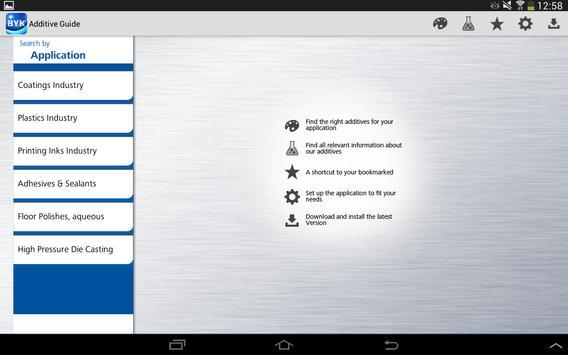 BYK Additive Guide apk screenshot