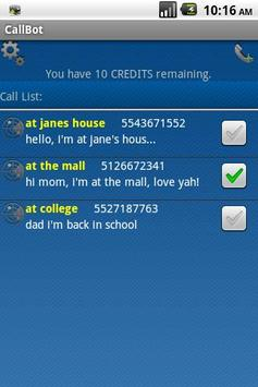 Location Voice Caller apk screenshot