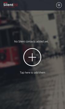 Silent List apk screenshot