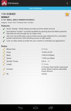 EPB Mobile - ORS Nasco apk screenshot