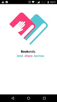 Bookends - lend, share, borrow poster