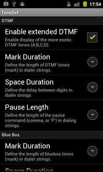 ToneDef (DTMF Tone Dialer) apk screenshot