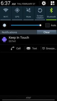 Keep In Touch apk screenshot