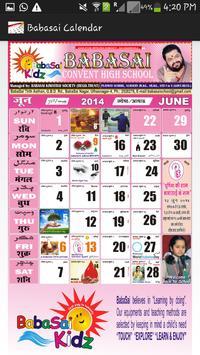 BabaSai Calendar apk screenshot