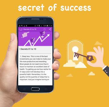 secret of success book apk screenshot