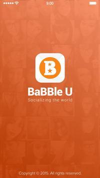 BaBBle U poster