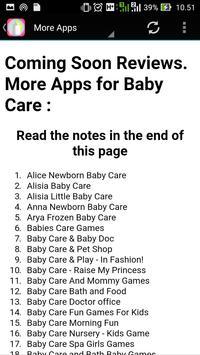 Baby Care Info apk screenshot