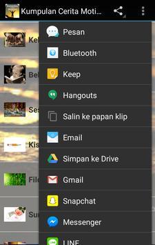 Kumpulan Cerita Motivasi apk screenshot