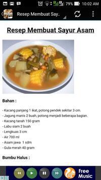 Resep Makanan Khas Indonesia apk screenshot