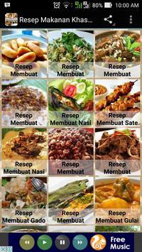 Resep Makanan Khas Indonesia poster
