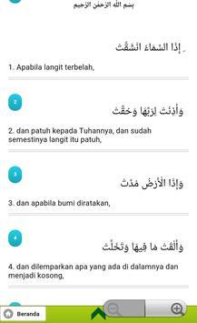 Juz Amma dan Terjemahannya apk screenshot