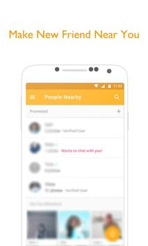 Chat Badoo Meet New People Tip poster