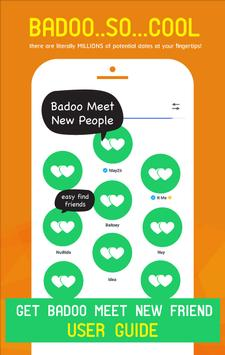 Get badoo meet new friend tips apk screenshot