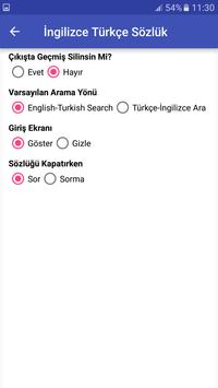 İngilizce Türkçe Sözlük apk screenshot