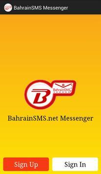 BahrainSMS Messenger poster