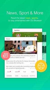 DU Browser—Browse fast & fun poster