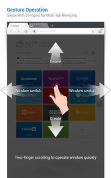 DU Browser for Tablet apk screenshot