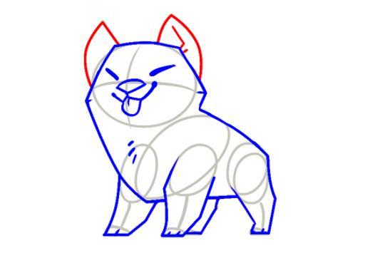 Dog Shiba Inu How to draw apk screenshot