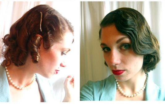 Hair Style Vintage for Women apk screenshot