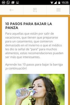 Bajar la Panza apk screenshot