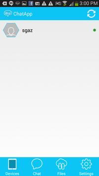 HitcherChat- Wifi Direct Share apk screenshot