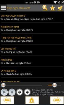 Yêu Nhạc Vàng apk screenshot