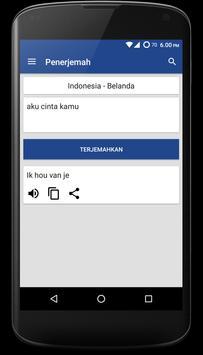 Kamus Bahasa Belanda Offline apk screenshot
