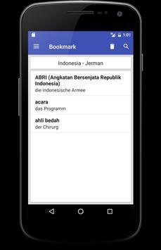 Kamus Jerman Indonesia apk screenshot