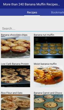 Banana Muffin Recipes Complete apk screenshot