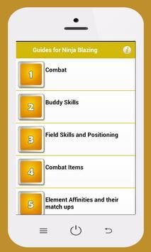 Guides Ultimate Ninja Blazing apk screenshot
