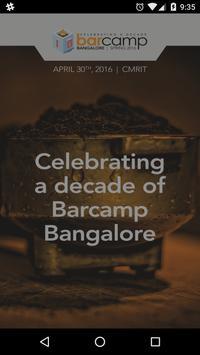 Barcamp Bangalore App poster