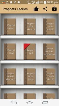 Prophets' stories in islam poster