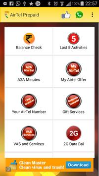 AirTel Balance USSD Check apk screenshot